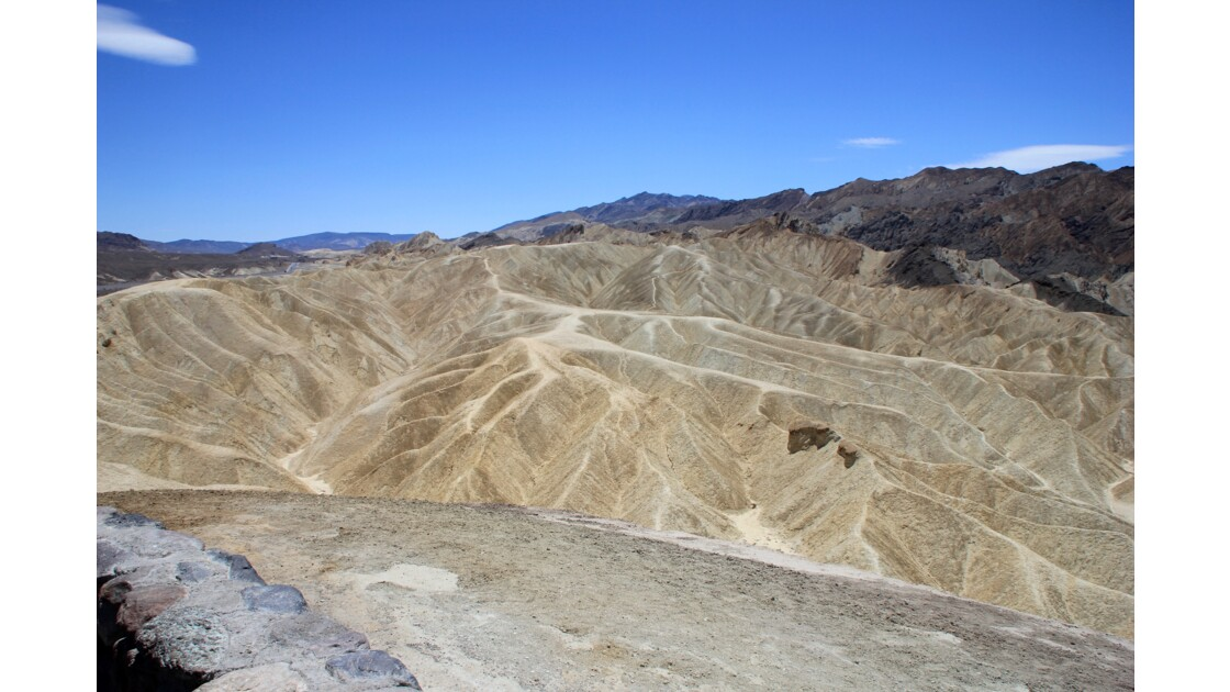 Death Valley National Park: Zabriskie Point