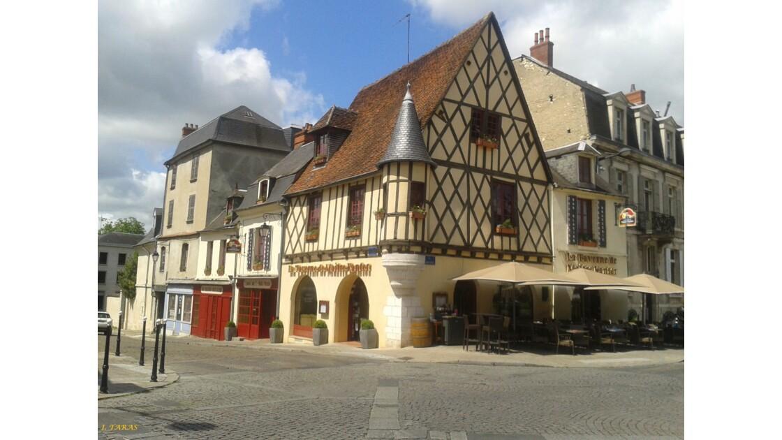 Maison à Colombages à Bourges