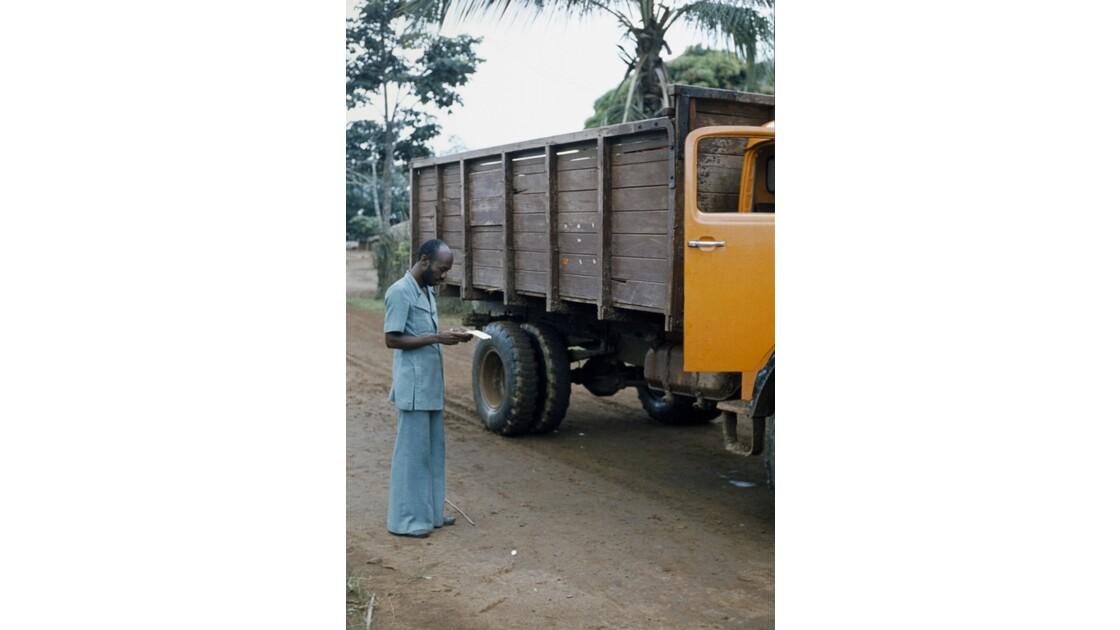 Congo 70 Zanaga-Bambama Contrôle des achats