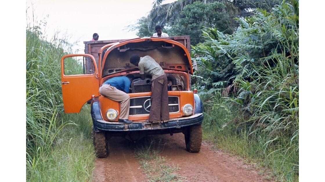 Congo 70 Zanaga-Bambama Problèmes de carburation