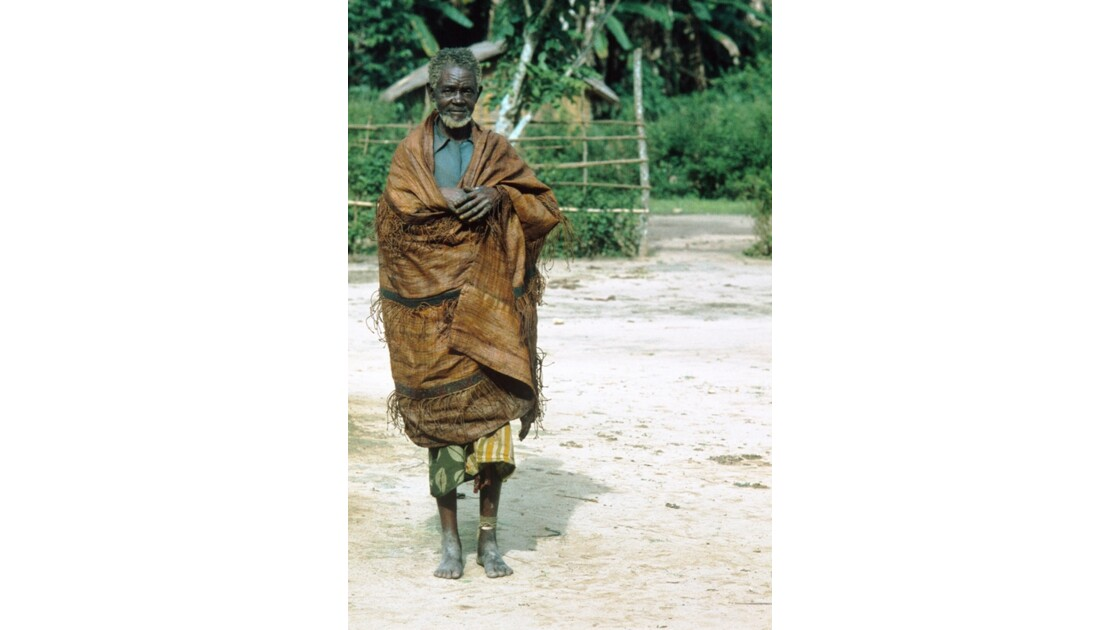 Congo 70 Zanaga-Bambama Un villageois 2