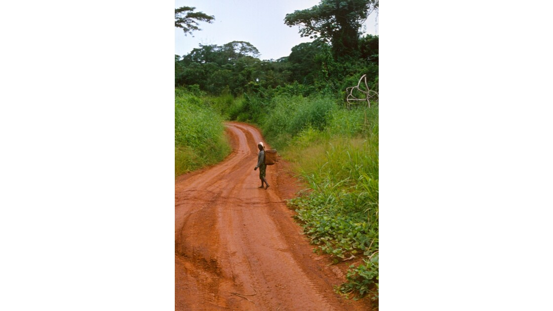 Congo 70 Sur la piste entre Zanaga et Sibiti 1