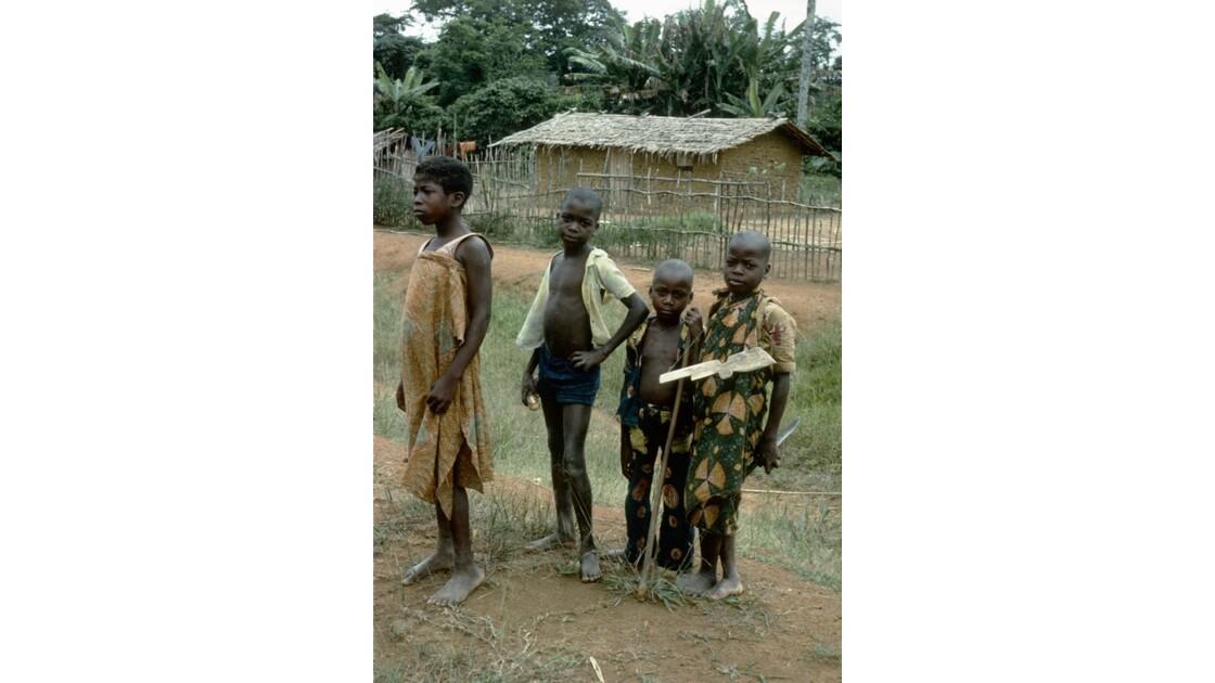 Congo 70 Village entre Zanaga et Sibiti 2