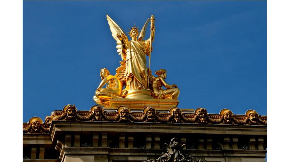 La Statue de la  Poésie