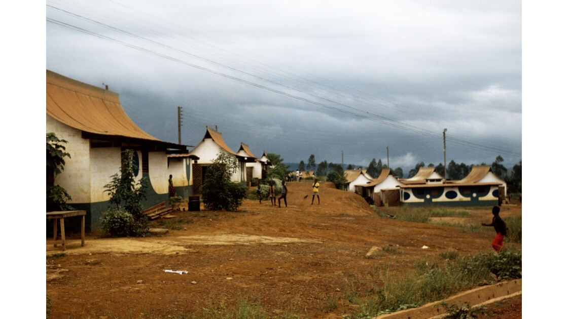 Congo 70 Cité ouvrière de la Comilog à Makabana 3