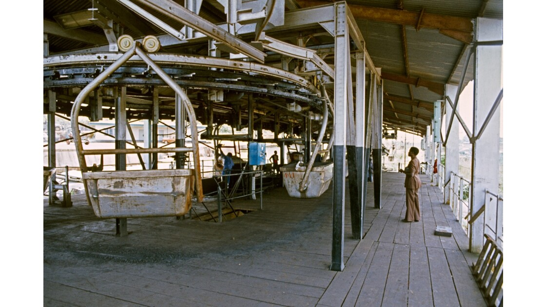 Congo 70 Mbinda arrivée du manganèse de Moanda 2
