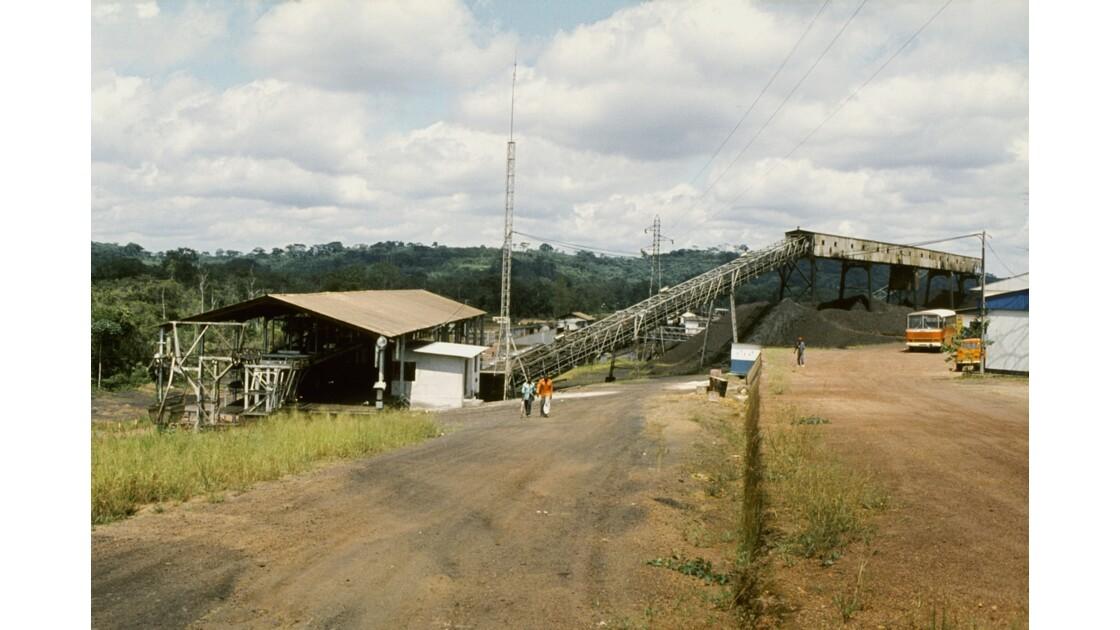 Congo 70 Mbinda Terminal arrivée du manganèse de Moanda