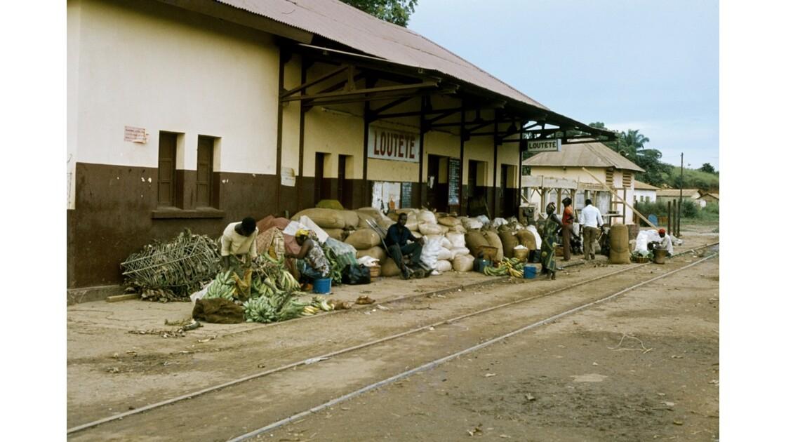 Congo 70 Gare de Loutété