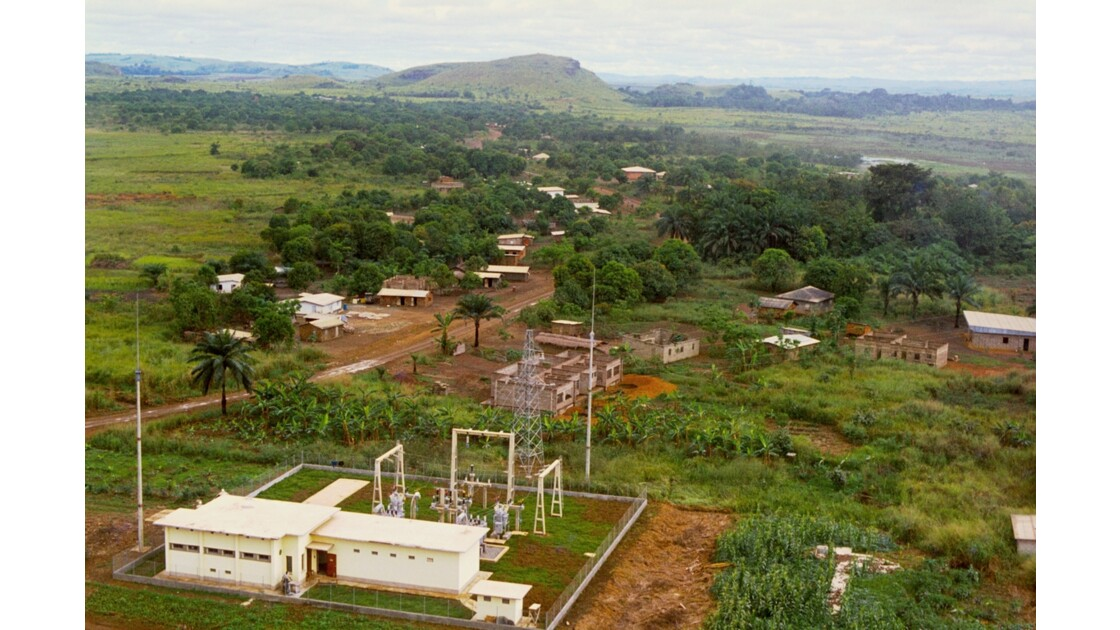 Congo 70 Loutété Centrale électrique