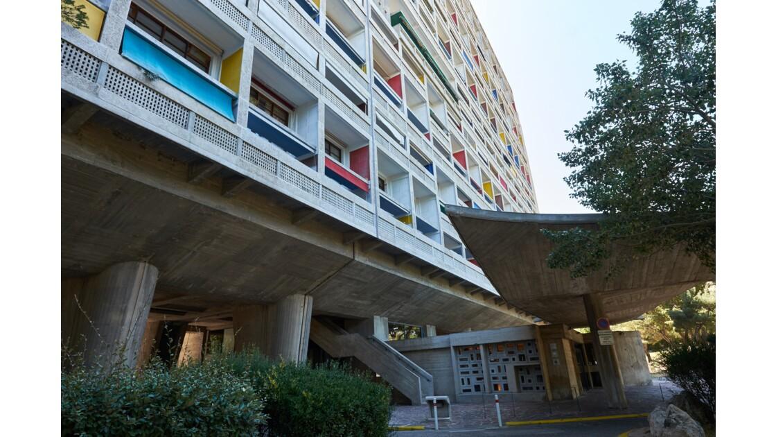 Marseille, la Cité radieuse de le Corbusier
