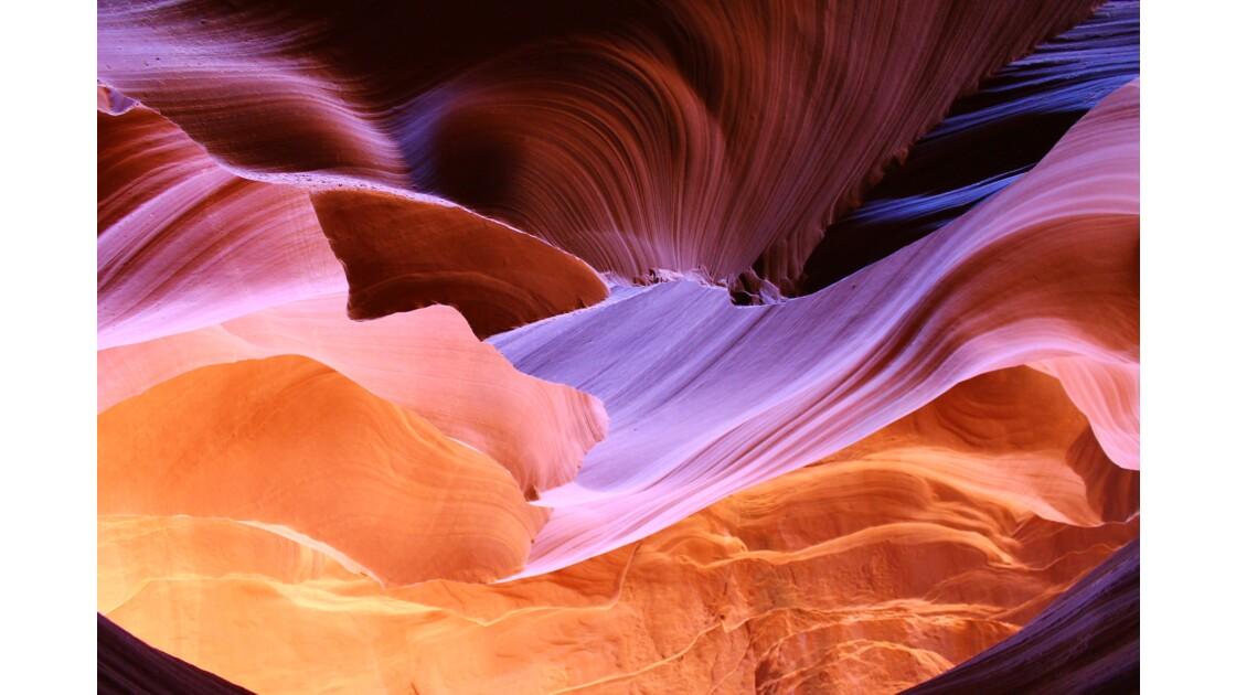 Rainbow rocks, Lower Antelope Canyon