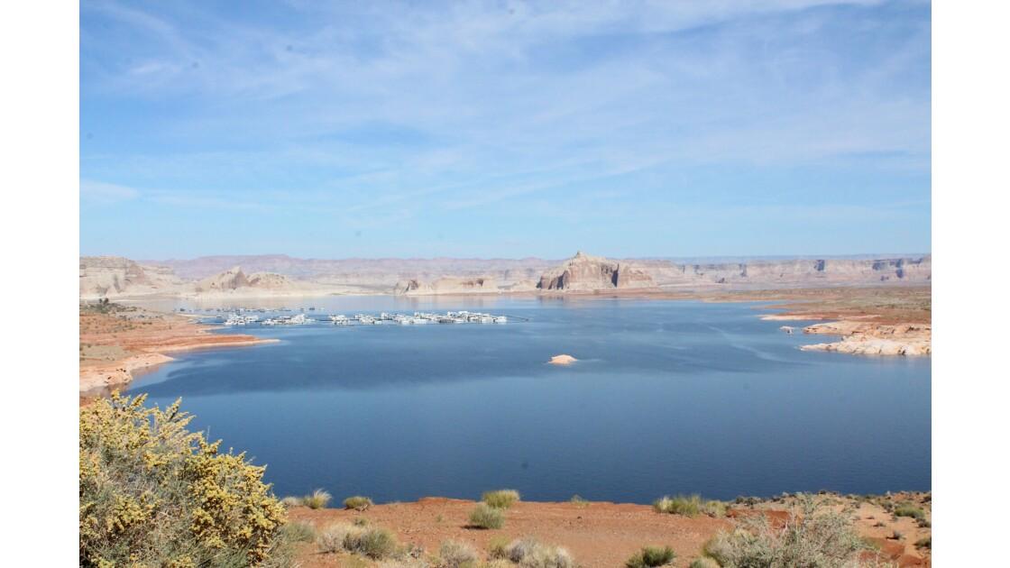 Panoramic view, Lake Powell