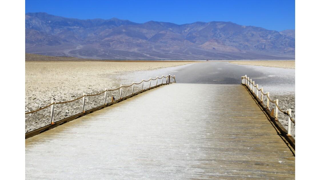 Bad Water, chemin du sel (Death Valley)