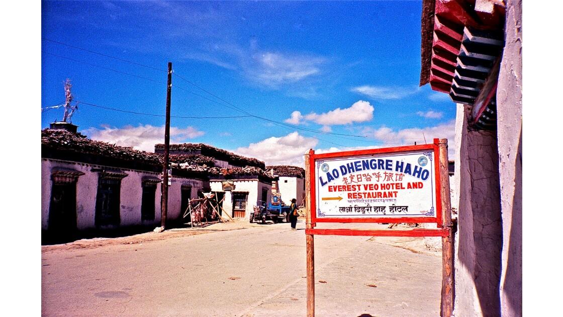 """TIBET """"Sur la route de Tingri"""""""