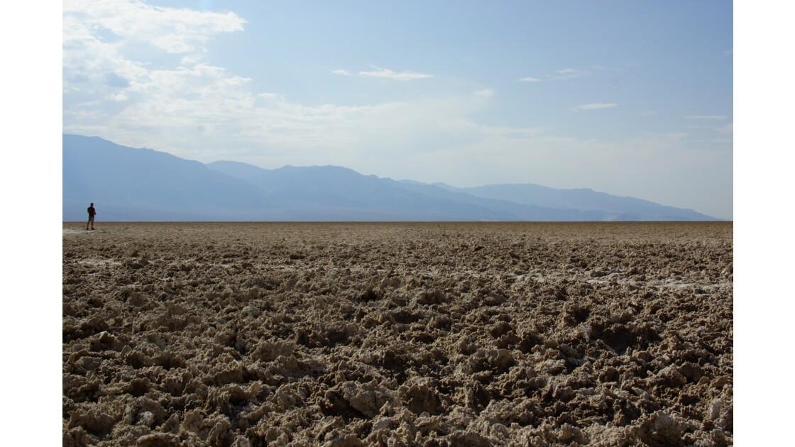 Face au désert - Vallée de la Mort