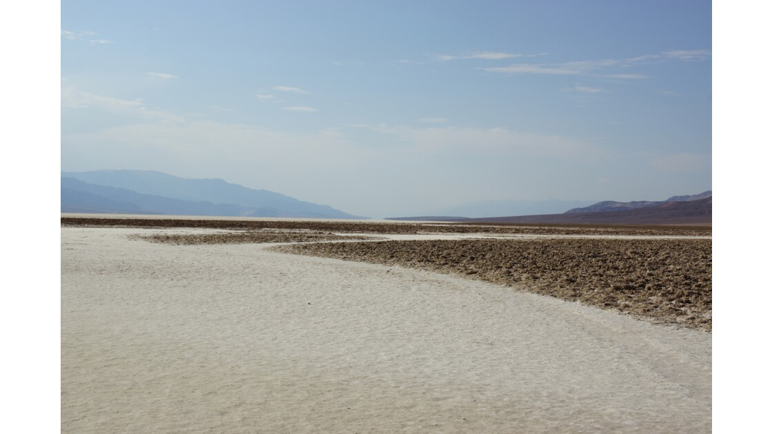 Croûte de sel de Badwater