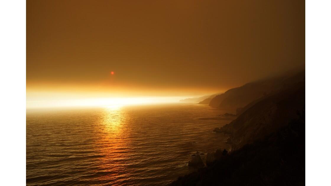 Incendie sur Big Sur