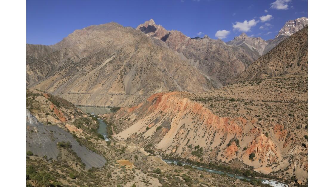 Un beau paysage du Tadjikistan