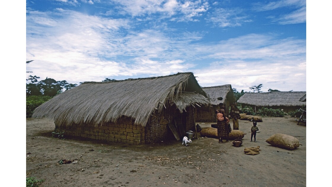 Congo 70 Plateaux Téké Village de Kébara 1