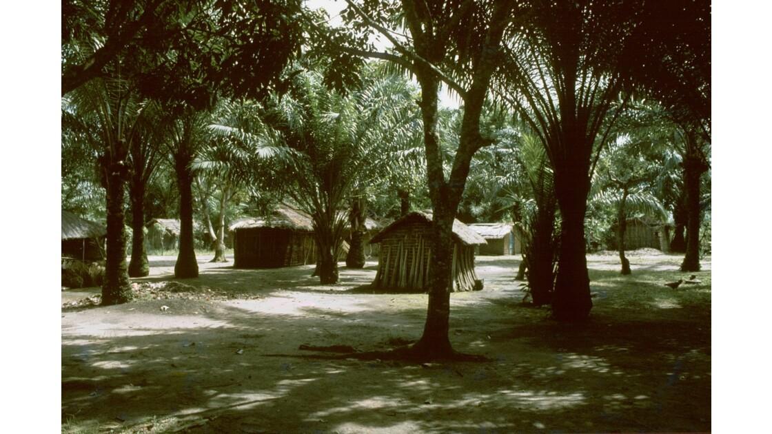 Congo 70 Plateaux Téké Village entre Lékana et Kébara 13