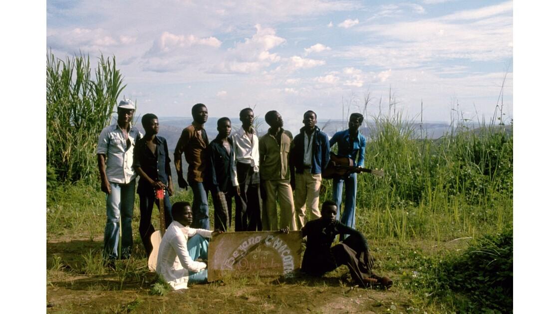 Congo 70  Plateaux Téké Orchestre à Lékana 2