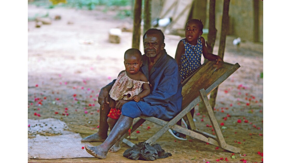 Congo 70 Villageois près de Lékana 1