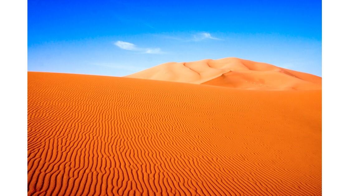 Dunes de l'Erg Chebbi, Merzouga, Maroc