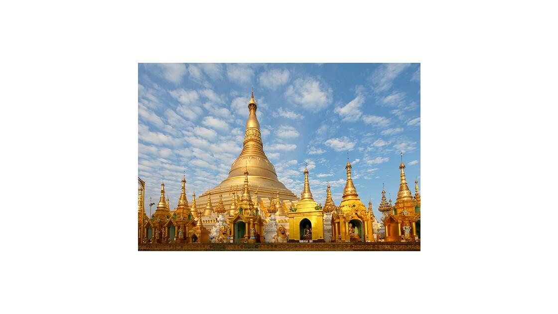 Temple à Rangoun