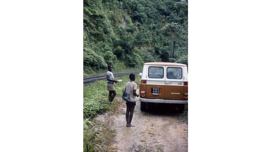 Congo 70 Mayombe Piste et CFCO