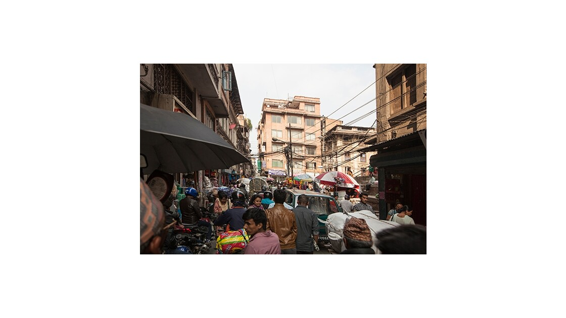 Circulation à Katmandou