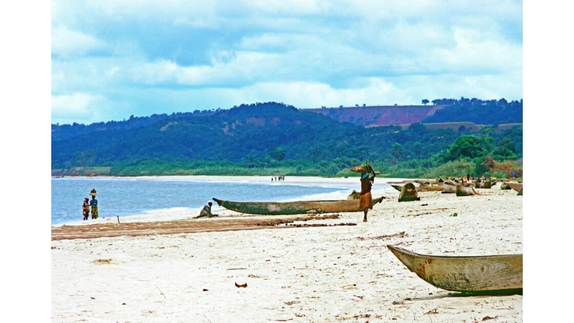 Congo 70 Baie de Loango La pointe Indienne 1