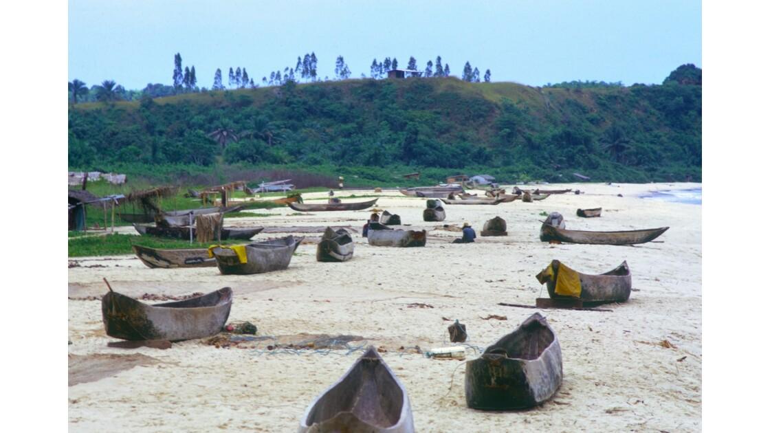 Congo 70 Baie de Loango le village des pêcheurs 1