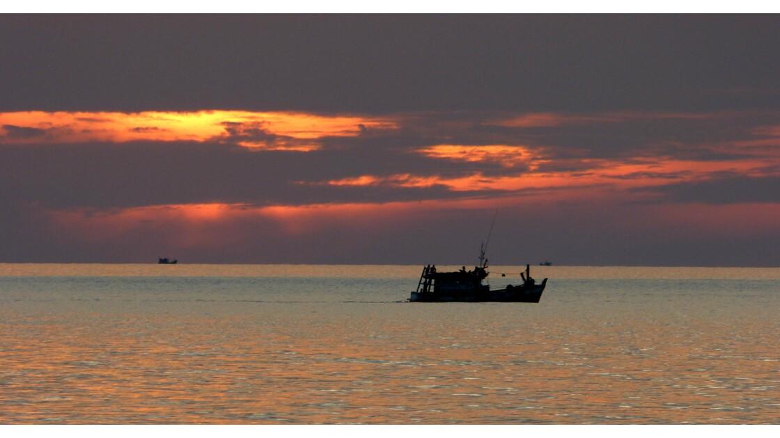 Sunset Cambodgien