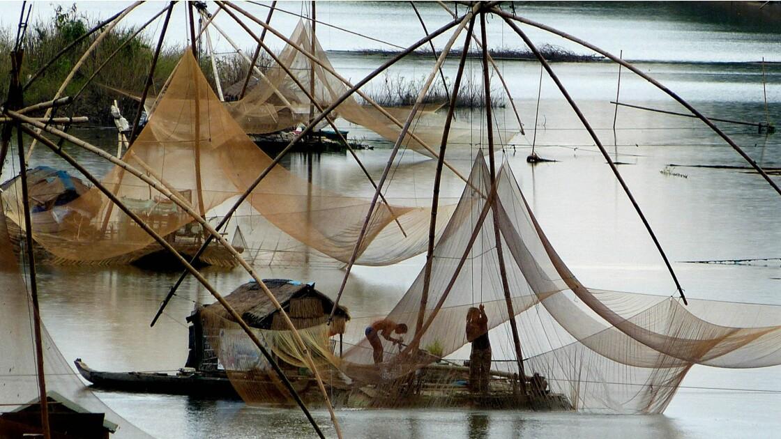 Pecheurs sur le Mekong