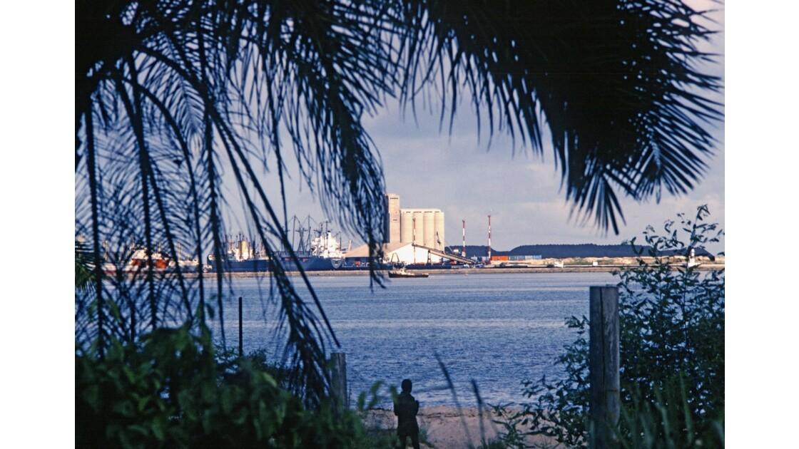Congo 70 Le port de Pointe-Noire 1