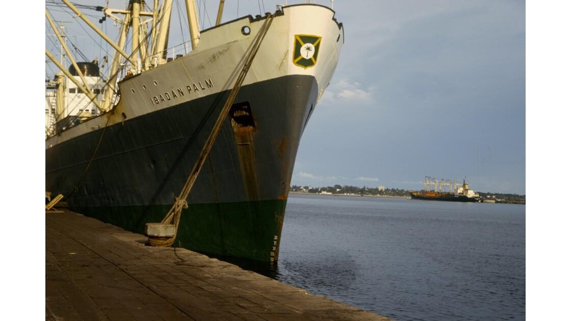 Congo 70 Le port de Pointe-Noire 2