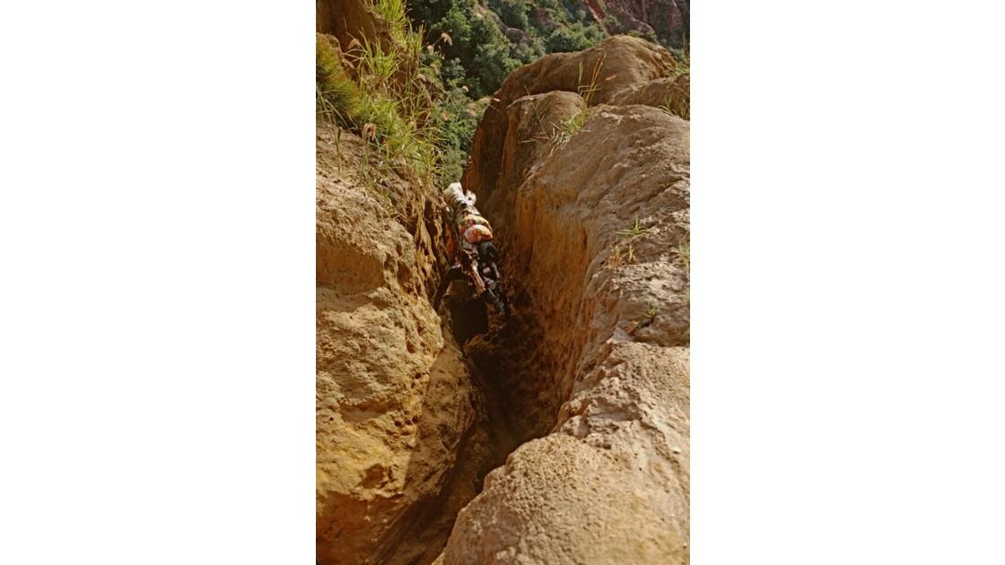 Congo 70 Diosso descente dans les gorges 3