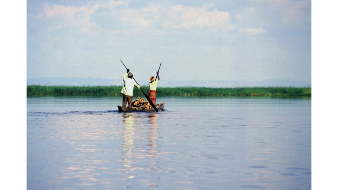 Congo 70 Pirogue sur le Pool 6