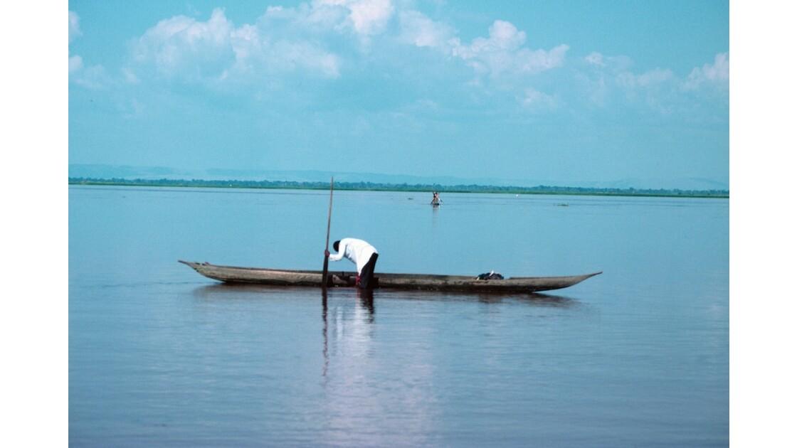 Congo 70 Pirogue sur le Pool 2