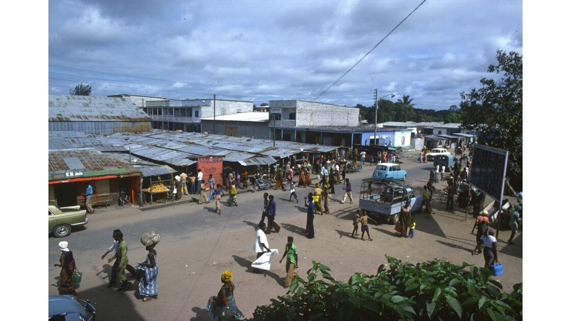Congo 70 Brazzaville marché de Moungali 3