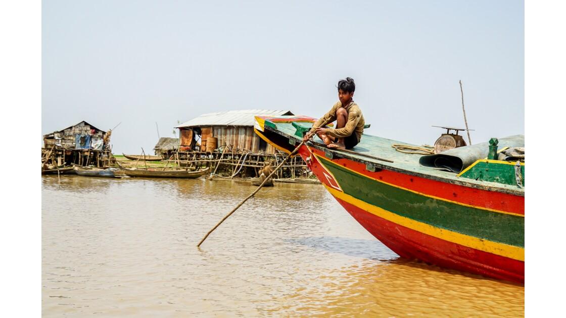 Mélancolie sur le Tonlé Sap