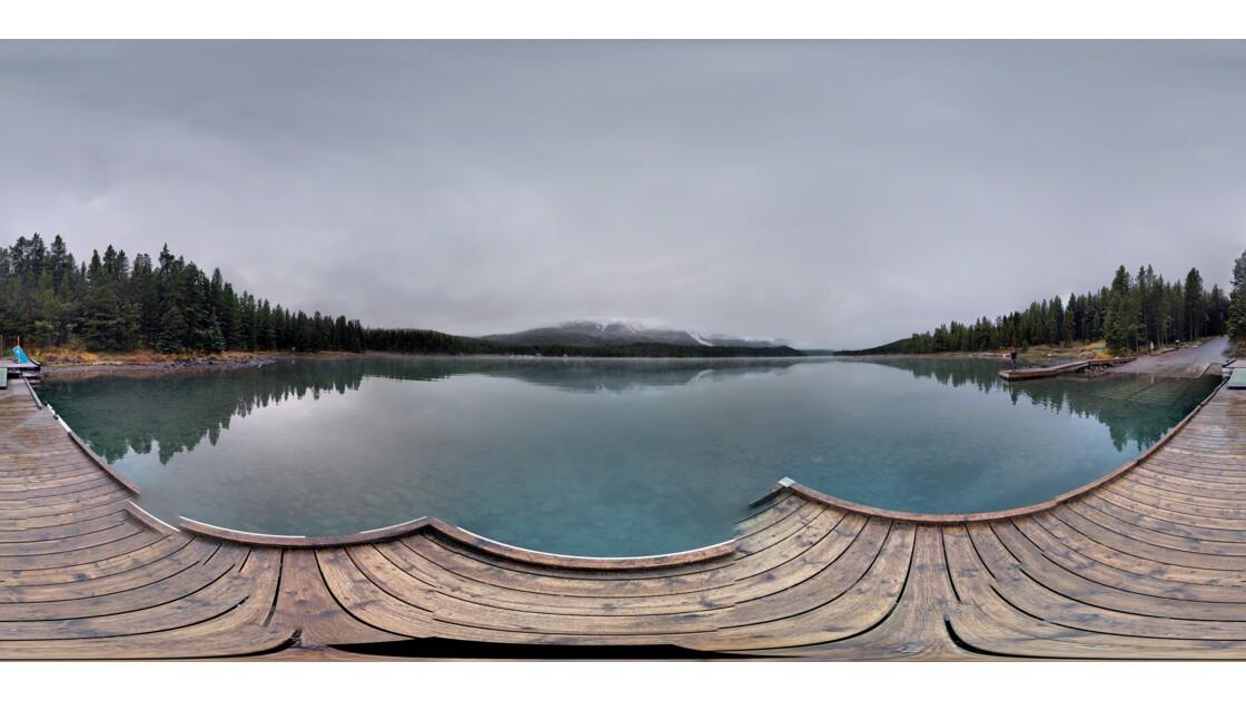 Photosphere du lac maligne