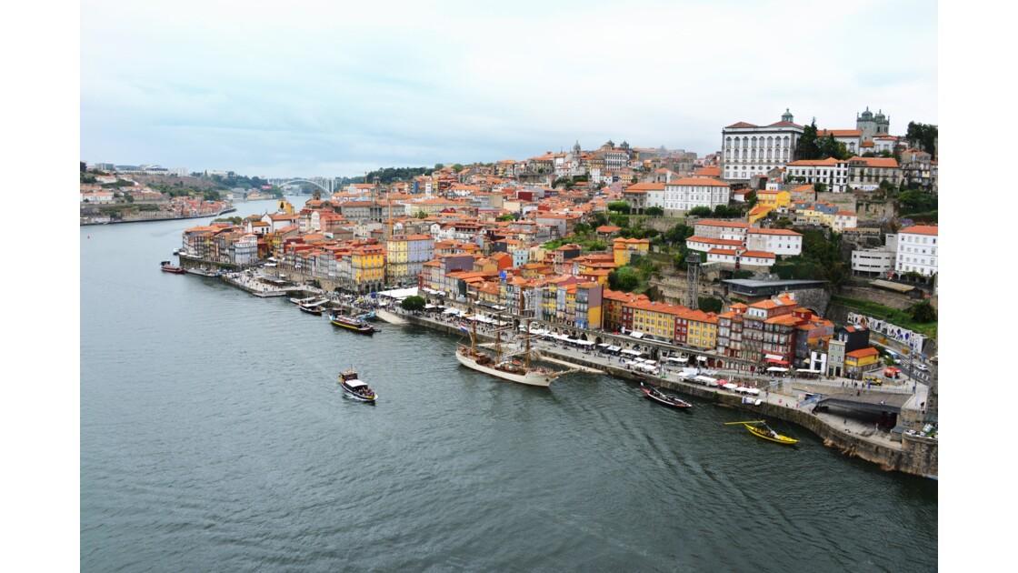 Le fleuve Douro à Porto