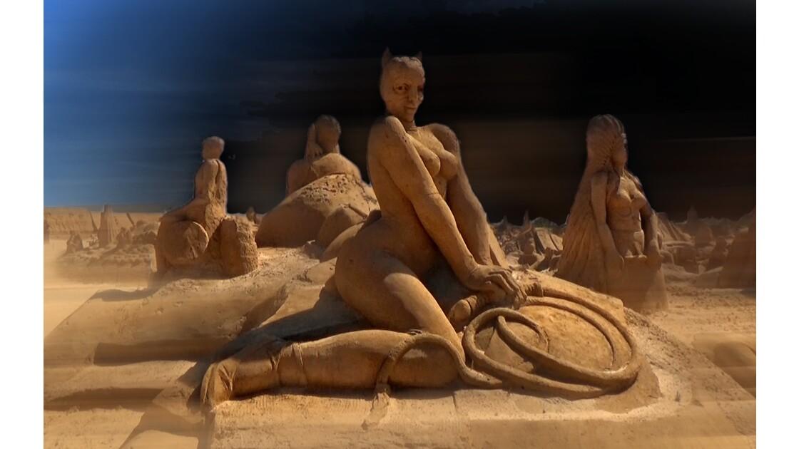 Sculptures de sable FESIA 2016