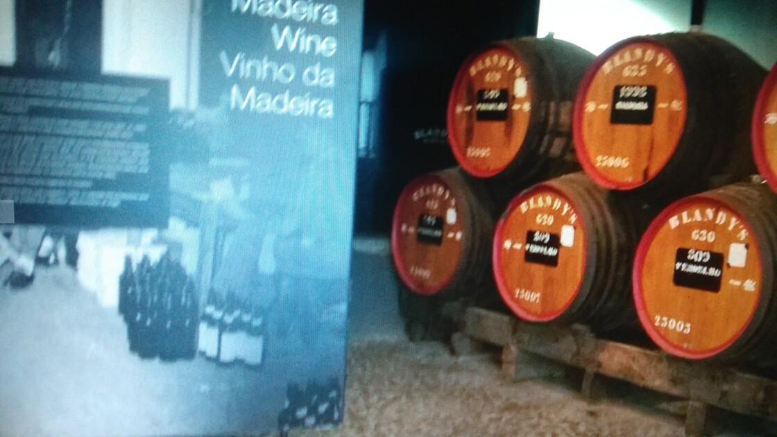Blandy's Madeira wine ( vin de Madére)