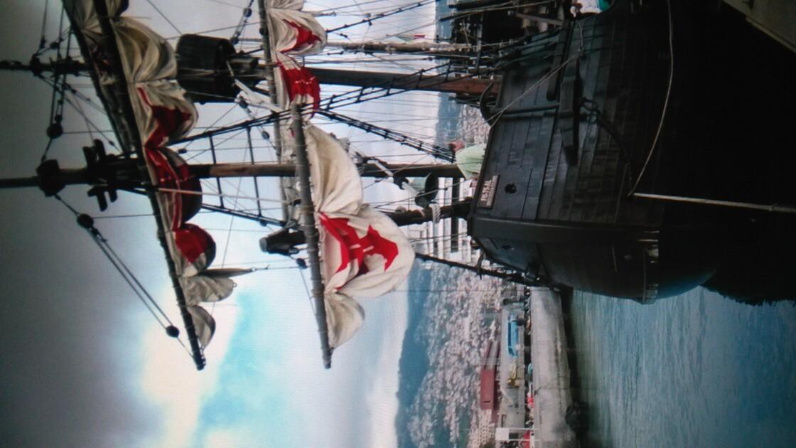 refaire le voyage de Christophe Colmb à Madére sur la santa Maria Fragate