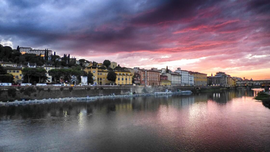 Soirée sur l'Arno