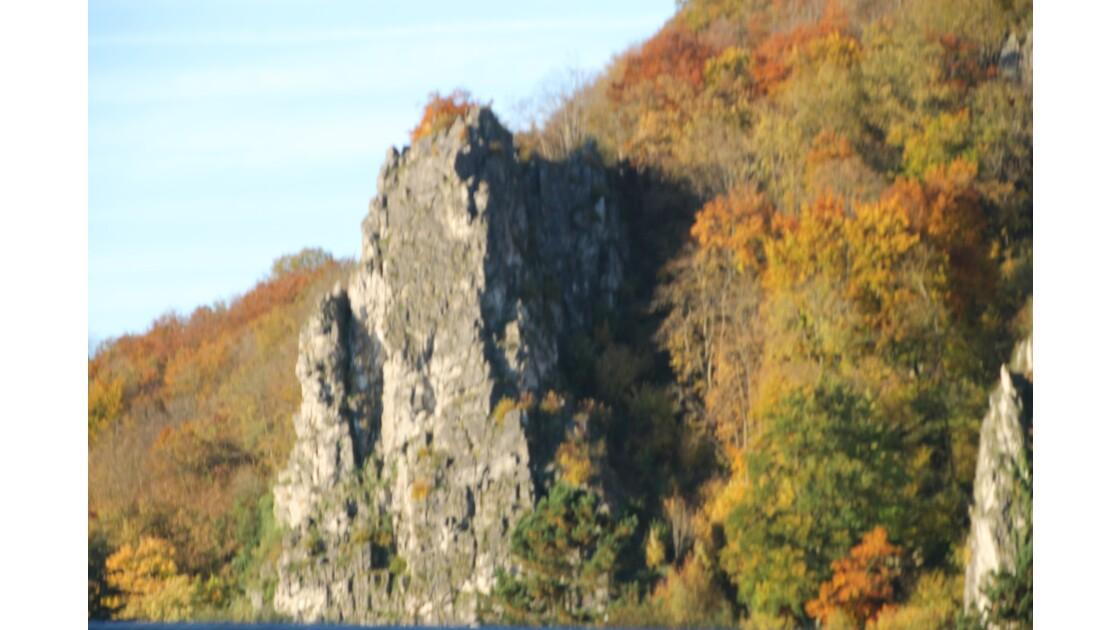 Le rocher du Néviau