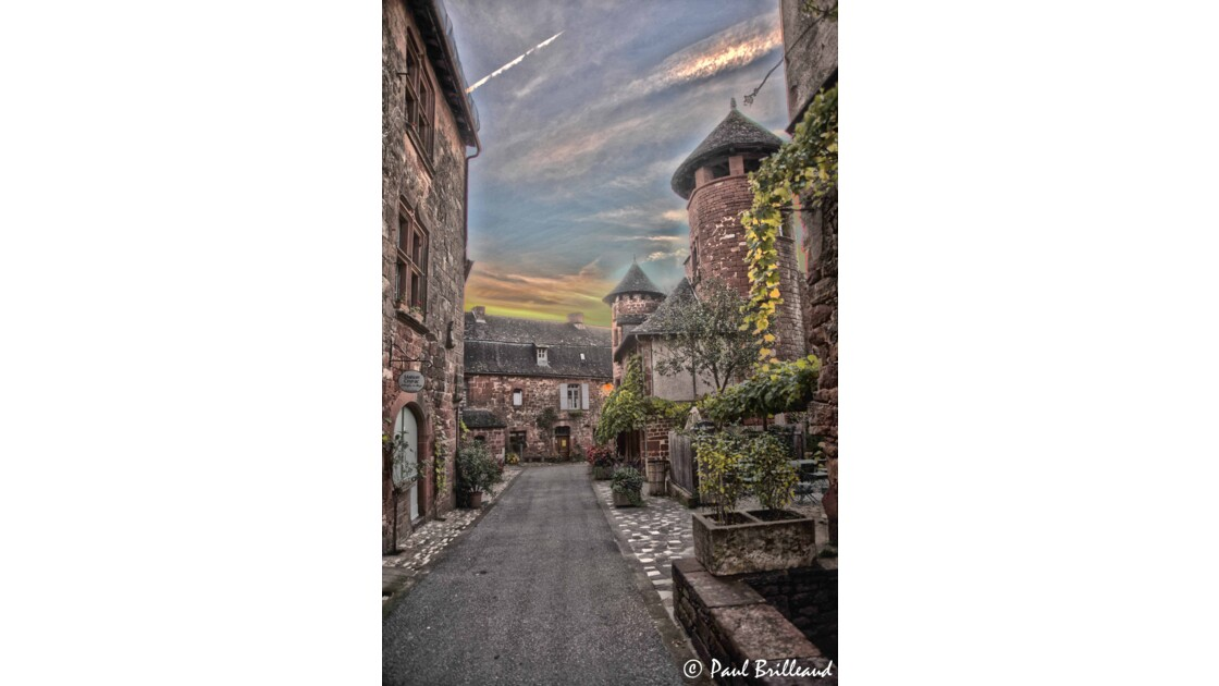Collonges la Rouge en Limousin