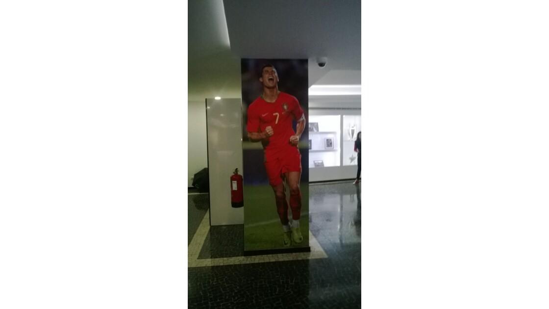 Christiano Ronaldo et son  musée à  funchal.